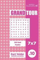 Sudoku Grand Tour - 200 Hard Puzzles 7x7 (Volume 10)