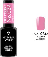 Gellak Victoria Vynn™ Gel Nagellak - Salon Gel Polish Color 024 - 8 ml. - Lollipop