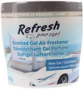 Refresh Your Car Gel Can New Car & Cool Breeze 142 Gram