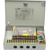CC-POWER07-Q - Voedingskast voor CCTV 12V - 18 kanaals - 10A