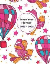 Seven Year Planner 2019 - 2025 Yulia