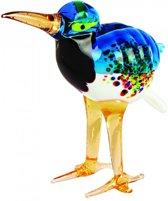 Glazen vogel met lange snavel