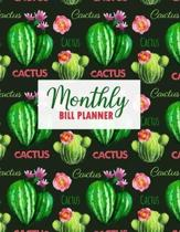 Monthly Bill Planner: Undated Budgeting Planner - Budget Tracker Planner - Daily Weekly & Monthly Expense Organizer for Budget Planner - Pla