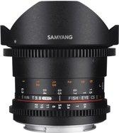 Samyang 8mm T3.8 Umc Vdslr Fisheye Cs II - Prime lens - geschikt voor Canon Systeemcamera