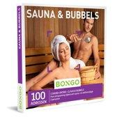 Bongo Bon Nederland - Sauna & Bubbels Cadeaubon - Cadeaukaart cadeau voor vrouw | 100 gezellige sauna's