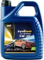VatOil Syngold LL-lll Plus 5W-30 - 5L - Motor Olie