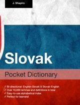 Slovak Pocket Dictionary