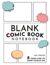 Blank Comic Book Notebook Gift for Kids