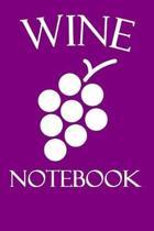 Wine Notebook