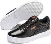 PUMA Carina P Sneakers Dames - Puma Black-Puma Black - Maat 40