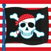 16 Napkins Pirate Party 33 x 33 cm
