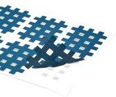 acupunctuurpleister raster 2,1 x 2,7 cm blauw