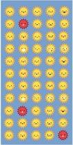 Clarysse Sunny - Strandlaken - 70x140 cm - Blauw