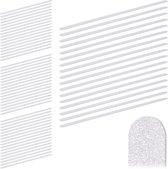 relaxdays 68 x antislip strips - 60 cm - anti-slip sticker - zelfklevende strips
