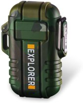 Plasma aansteker Outdoor - Explorer Camo - Waterproof