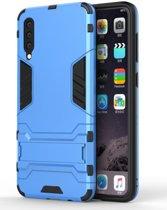Samsung Galaxy A50 Hybride Stand Hoesje Blauw