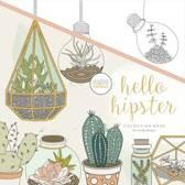 Kaisercraft Kleurboek voor Volwassenen - Hello Hipster