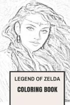 Tale of Zelda Coloring Book
