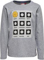 Legowear grijze jongens tshirt - Maat 116