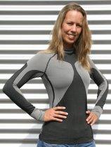 Craft thermo shirt zwart met grijs voor dames Xl