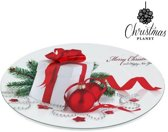 Decoratief Kerst Bord Christmas Planet 1147