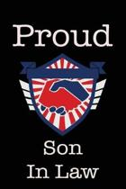 Proud Son in Law: Union Jobs Family Lined Notebook Journal