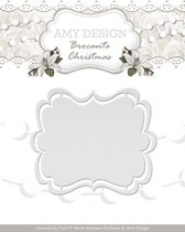 Die - Amy Design - Brocante Christmas - Label