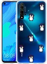 Huawei Nova 5T Hoesje Chillin like a penguin