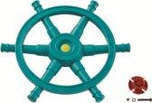 Stuurwiel boot star - turquoise/limoen groen