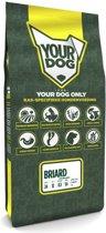 Yourdog briard hondenvoer volwassen 12 kg