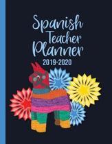 Spanish Teacher Planner 2019-2020