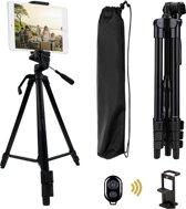 SEFID® sport telefoonstatief tripod - smartphone statief - Telefoon / camera statief met houder voor iphone - samsung - huawei en luxe reis tasje