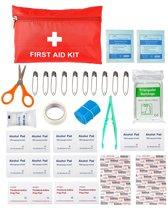 Travelsky EHBO Kit - Eerste Hulp Set – Verbanddoos – First Aid Kit – EHBO Trommel Voor Op Reis - Reisartikelen - Veiligheid - EHBO tools