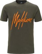 Malelions T-shirt Signature Army
