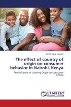 The Effect of Country of Origin on Consumer Behavior in Nairobi, Kenya