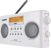 Sangean Pack PR-D5 – Draagbare radio – Wit