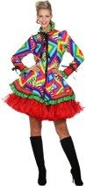Jaren 80 & 90 Kostuum | Jas Disco Mazzo Vrouw | Maat 46 | Carnaval kostuum | Verkleedkleding