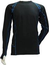 Rucanor Madox - Fitnessshirt - Heren - L - zwart combi