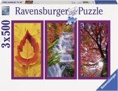 Ravensburger Herfstimpressies (3 x 500) - Puzzel van 1500 stukjes