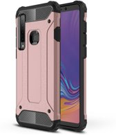 Samsung Galaxy A9 (2018) Hoesje - Armor Hybrid - Rose Gold