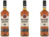 Bacardi Oakheart - 70 cl- 3-pack