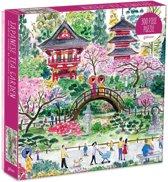 Michael storrings japanese tea garden 300 piece puzzle