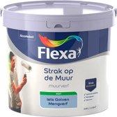 Flexa - Strak op de muur - Muurverf - Mengcollectie - Iets Golven - 5 Liter