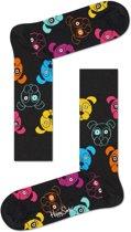 Happy Socks Dog Sokken Zwart, Maat 36/40