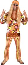Hippie Kostuum | Wilde Combi High Hippie | Man | Medium | Carnaval kostuum | Verkleedkleding
