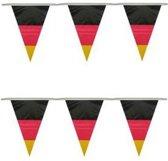 2x Vlaggenlijn Duitsland 10 meter - Duitse vlag - Landen thema versiering
