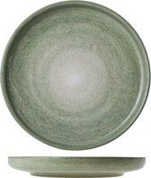 Cosy&Trendy Destino Light Green Ontbijtbord - Ø 15.5 cm - Set-4
