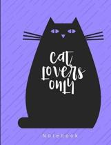 Cat Lovers Notebook: 200 Blank Lined Pages - Sketchbook Journal Diary