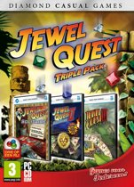 Casual Diamond - 3 Pack Jewel Quest Solitaire - Windows