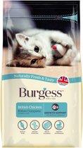 Burgess kitten rijk aan kip kattenvoer 1,5 kg